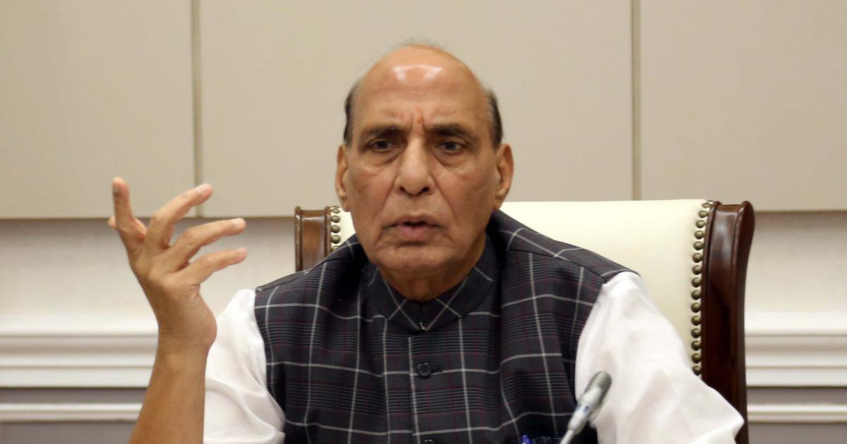 Pakistan and China creating border tensions 'under a mission,' says Rajnath Singh