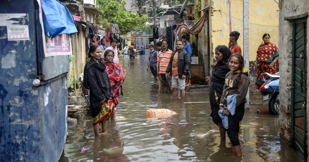 At least 50 die due to rain, floods in Telangana; 27 in Maharashtra