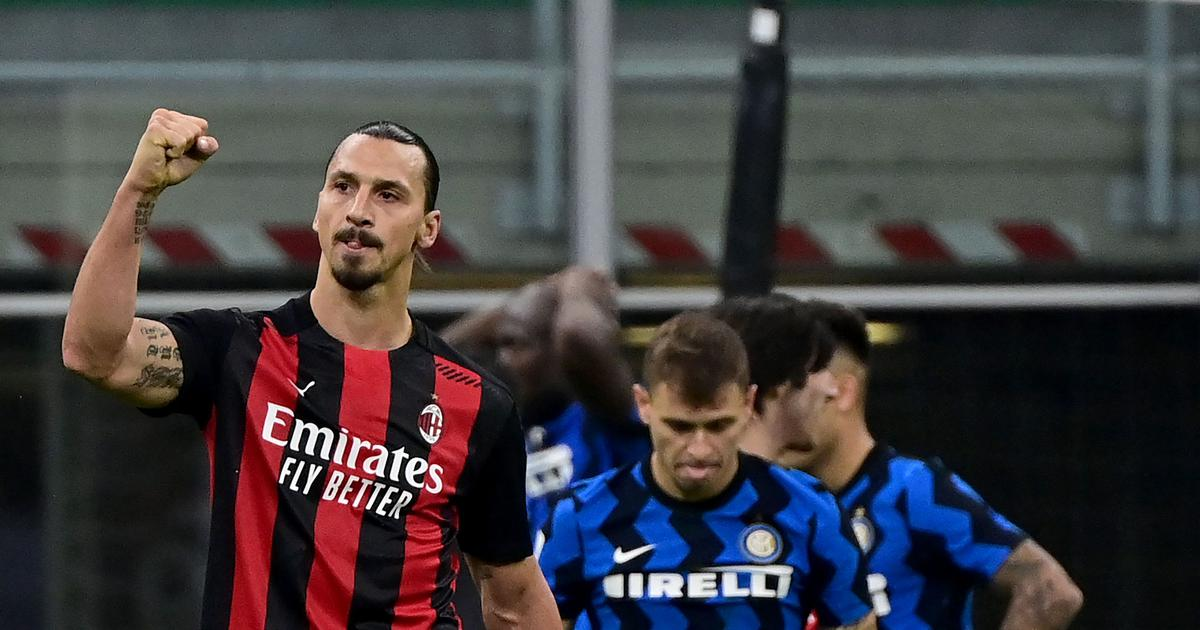 Serie A: Zlatan Ibrahimovic's brace fires Milan to derby win over Inter, ten-man Juventus held