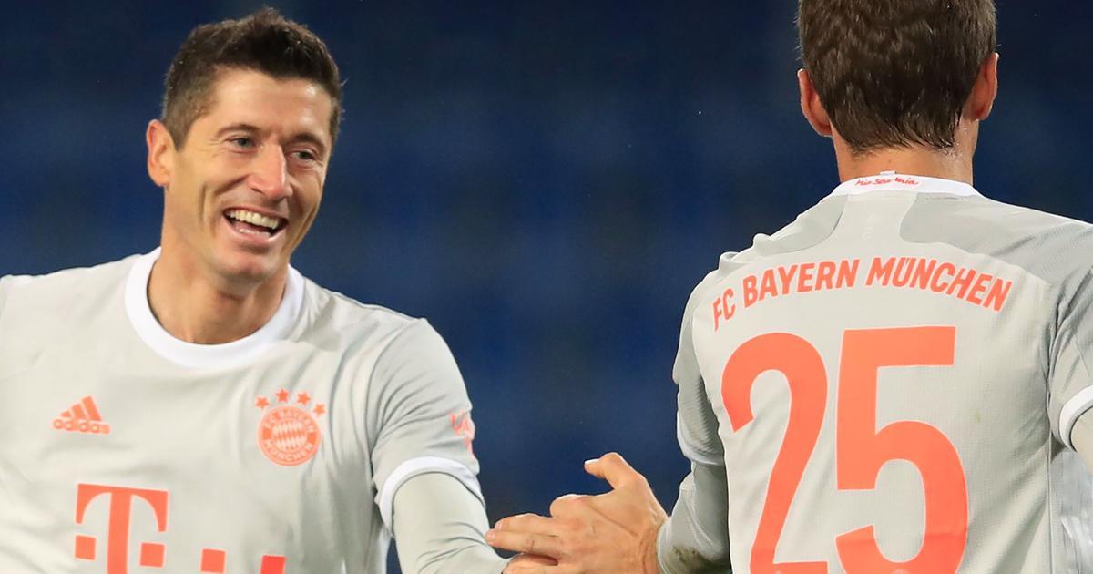 Bundesliga: Lewandowski, Muller net brace in Bayern Munich win, Reus rescues Dortmund