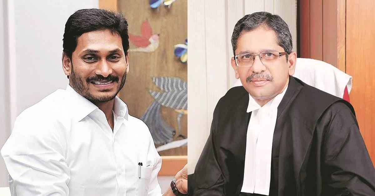 Jagan Reddy vs Justice Ramana: Attorney general declines consent to initiate contempt against CM