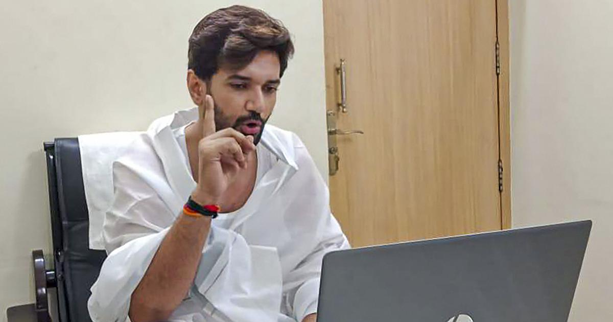 Don't mind criticism from Modi, but BJP should use words wisely, says Chirag Paswan