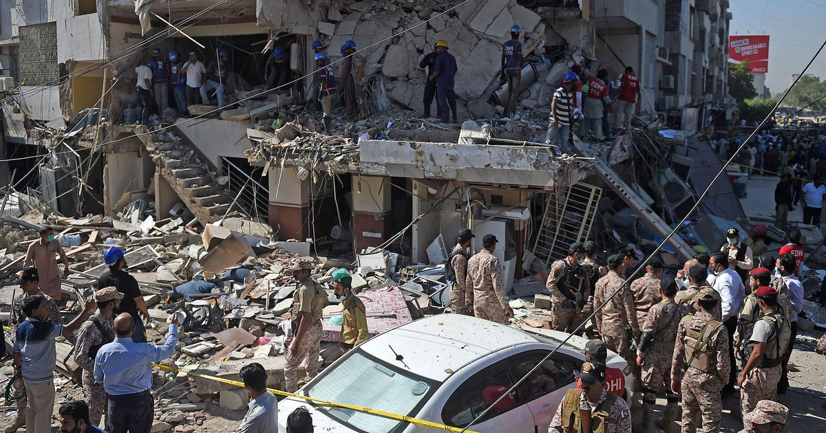 Pakistan: At least five killed, 20 injured in building explosion in Karachi