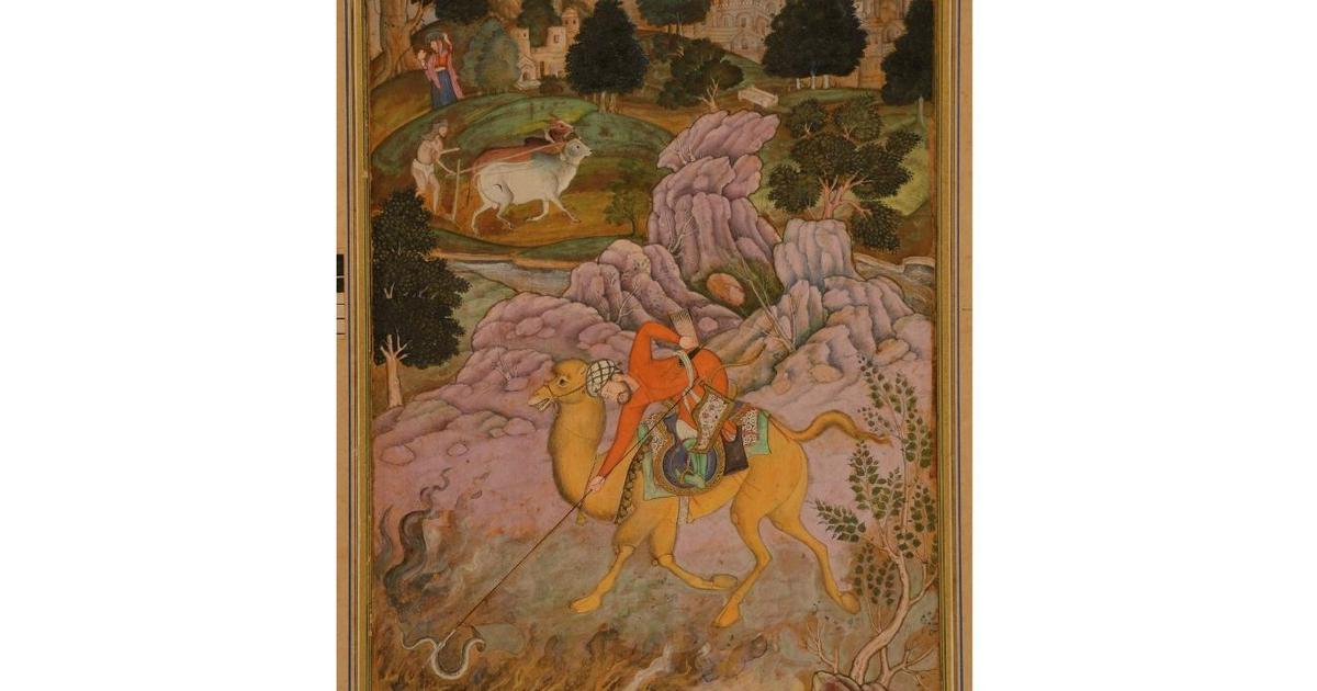 Weekend Quiz: Which Mughal emperor commissioned the Iyar-e-Danish manuscript?