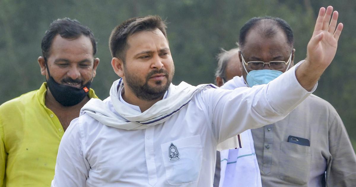 'Now, arrest me': Tejashwi Yadav challenges Nitish Kumar after new order on social media posts