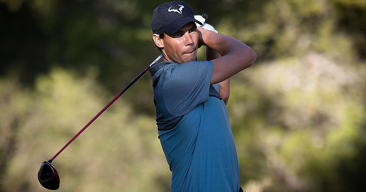 Tennis star Rafael Nadal finishes tied-sixth place at Pro-Am golf tournament in Mallorca