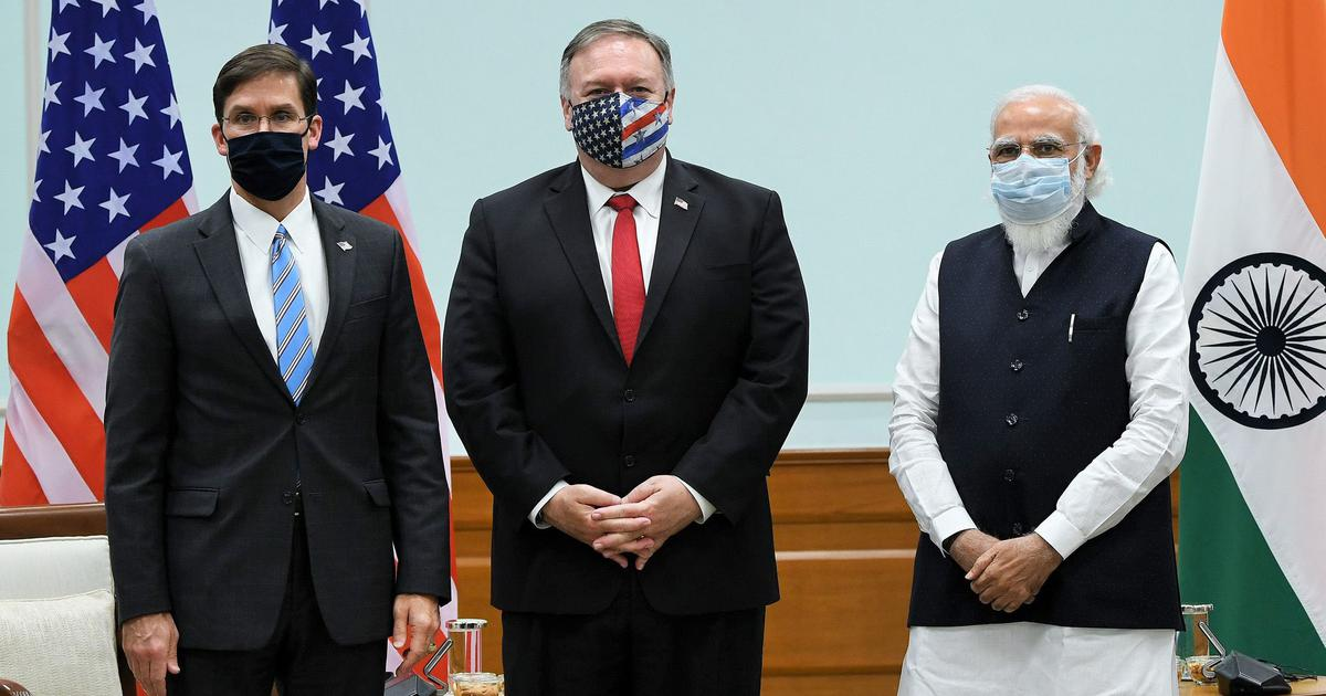 What you need to know about the India-US 2+2 dialogue and their efforts to deal with China