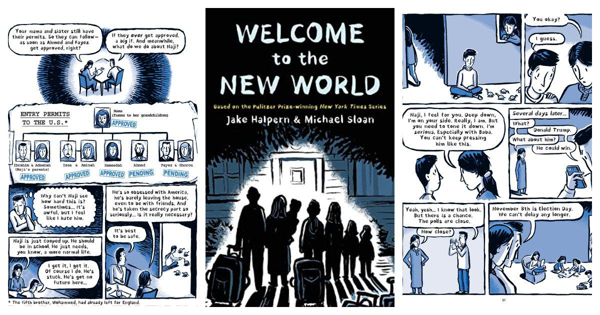 In 'Welcome to the New World', a glimpse of an inclusive USA  – and the power of graphic journalism
