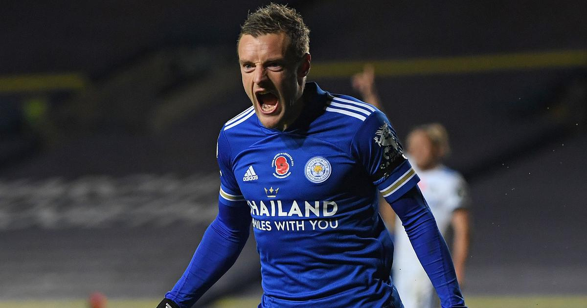 Premier League: Jamie Vardy stars as Leicester thump Leeds to go second, Fulham claim first win