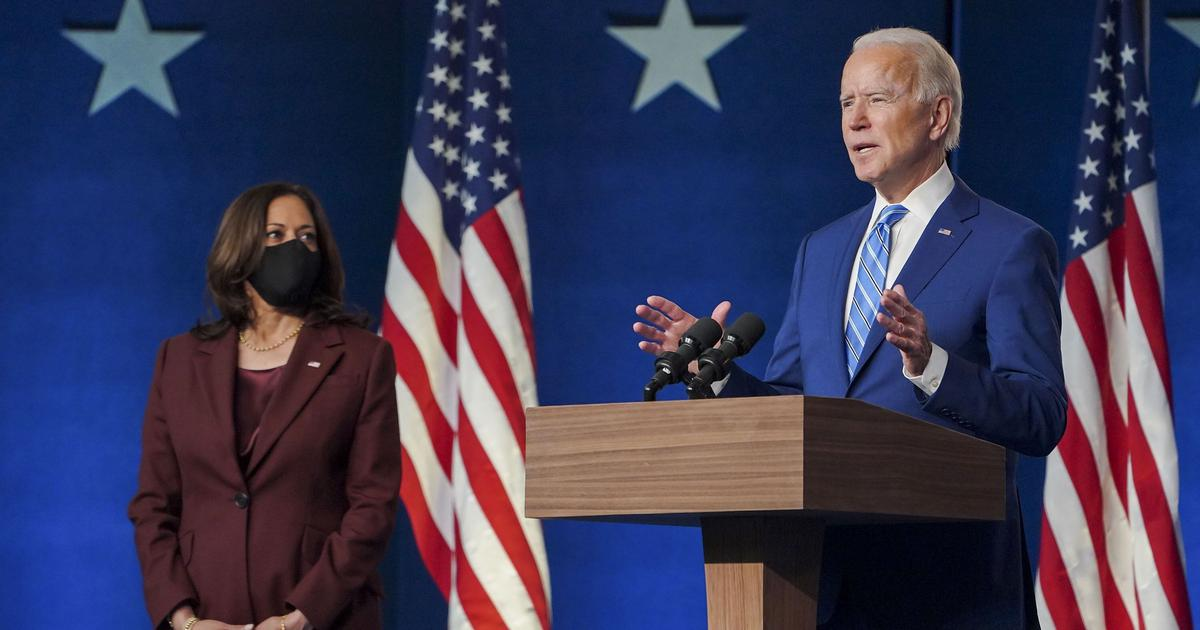 Biden: Be patient, we will win, let the ballots be counted
