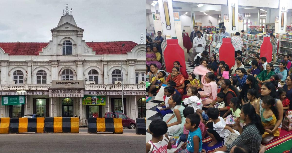 How Chennai's Higginbothams, India's oldest bookstore, is responding to the pandemic