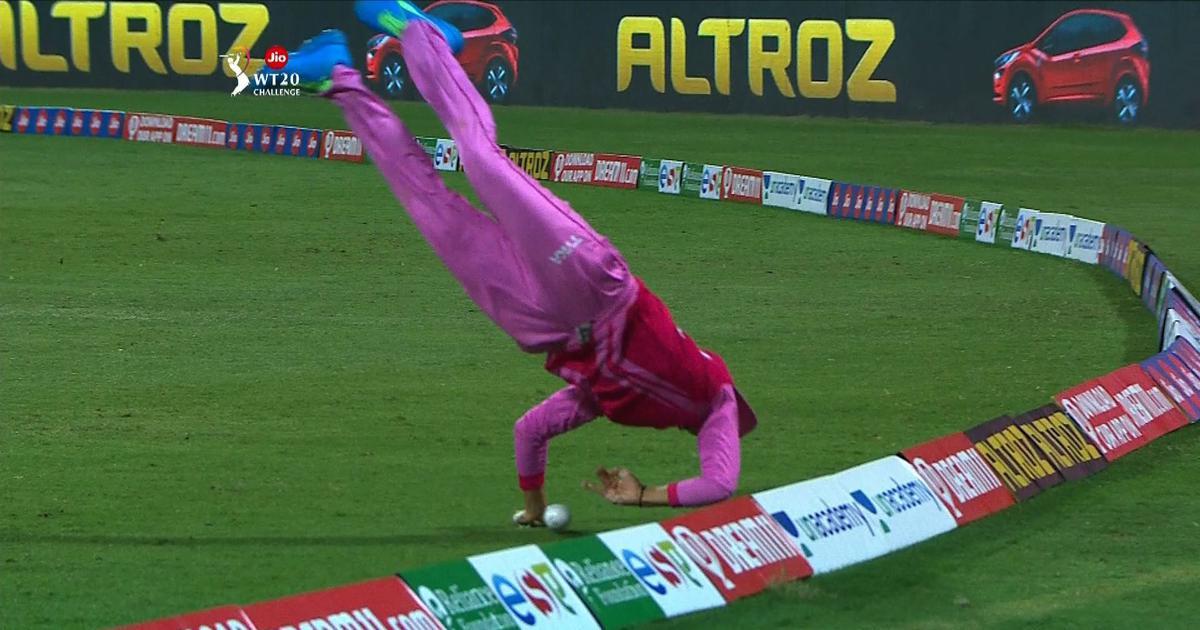 Watch: Thailand's Nattakan Chantam's stunning fielding effort in Women's T20 Challenge final