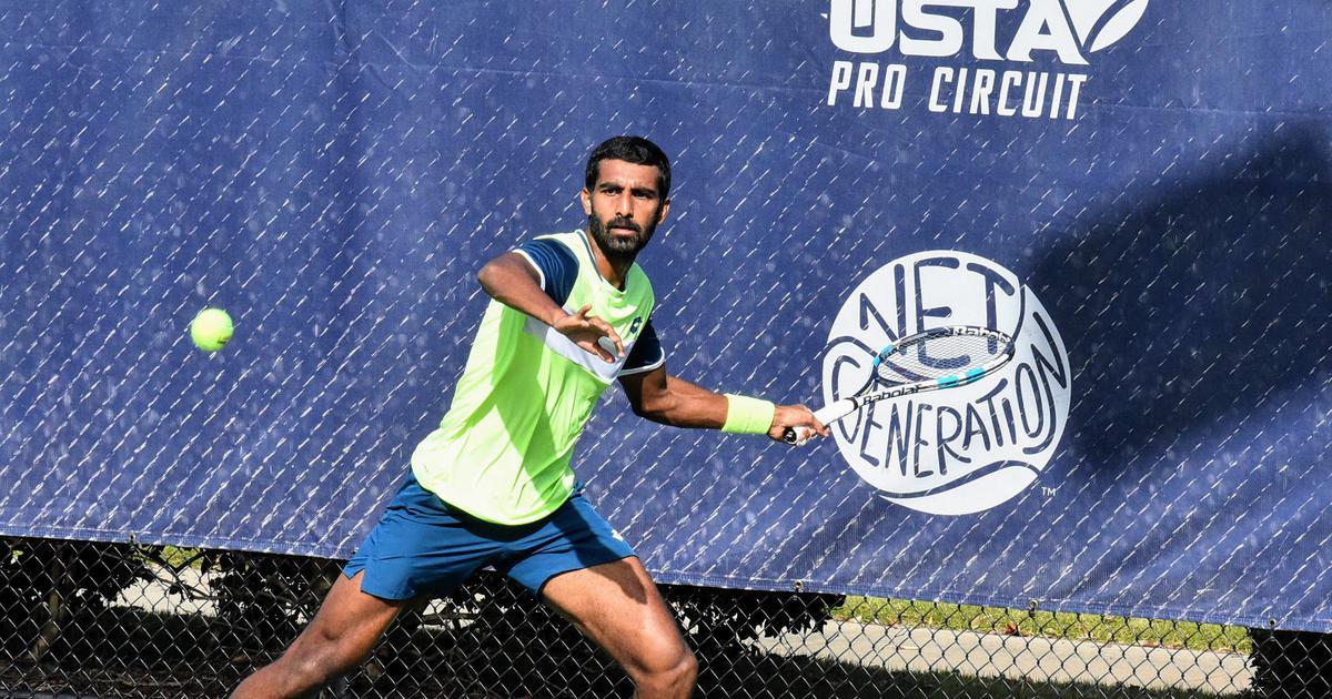 Indian tennis: Prajnesh Gunneswaran finishes as runner-up to Denis Kudla at Cary Challenger