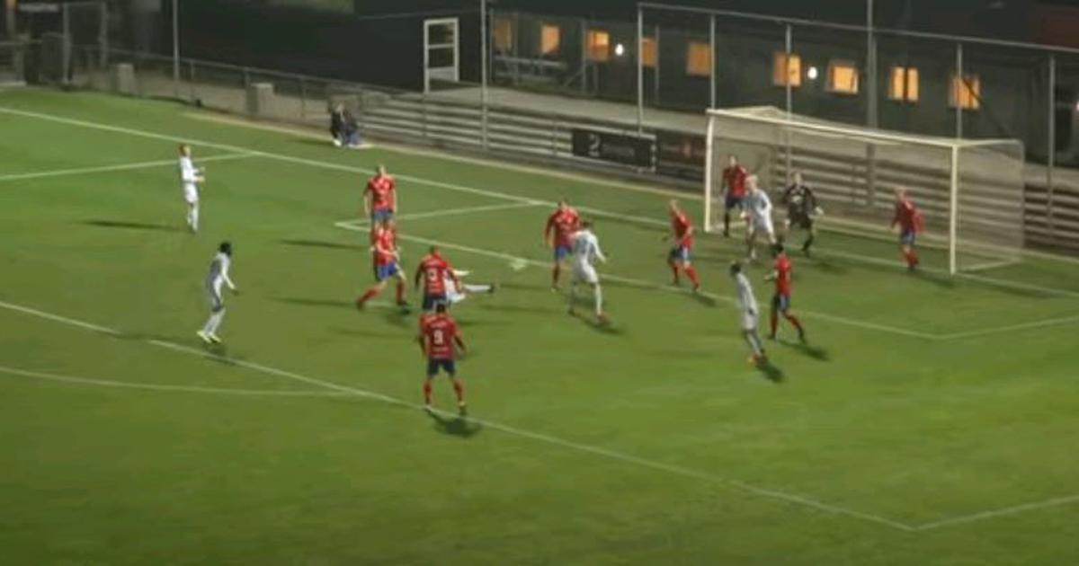 Watch: A sensational strike in Danish Cup match is being hailed as a goal of the season contender