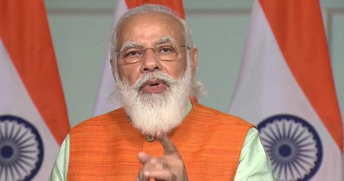 'Ideology should always be in country's interest,' Modi tells JNU students