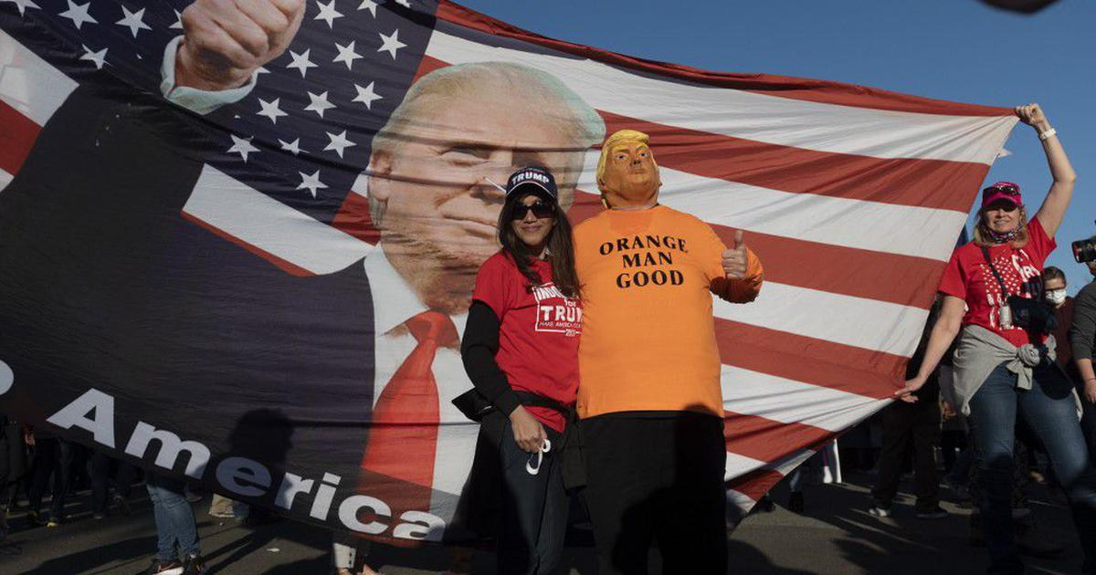 US elections: Thousands of Americans hold rally in support of Donald Trump in Washington