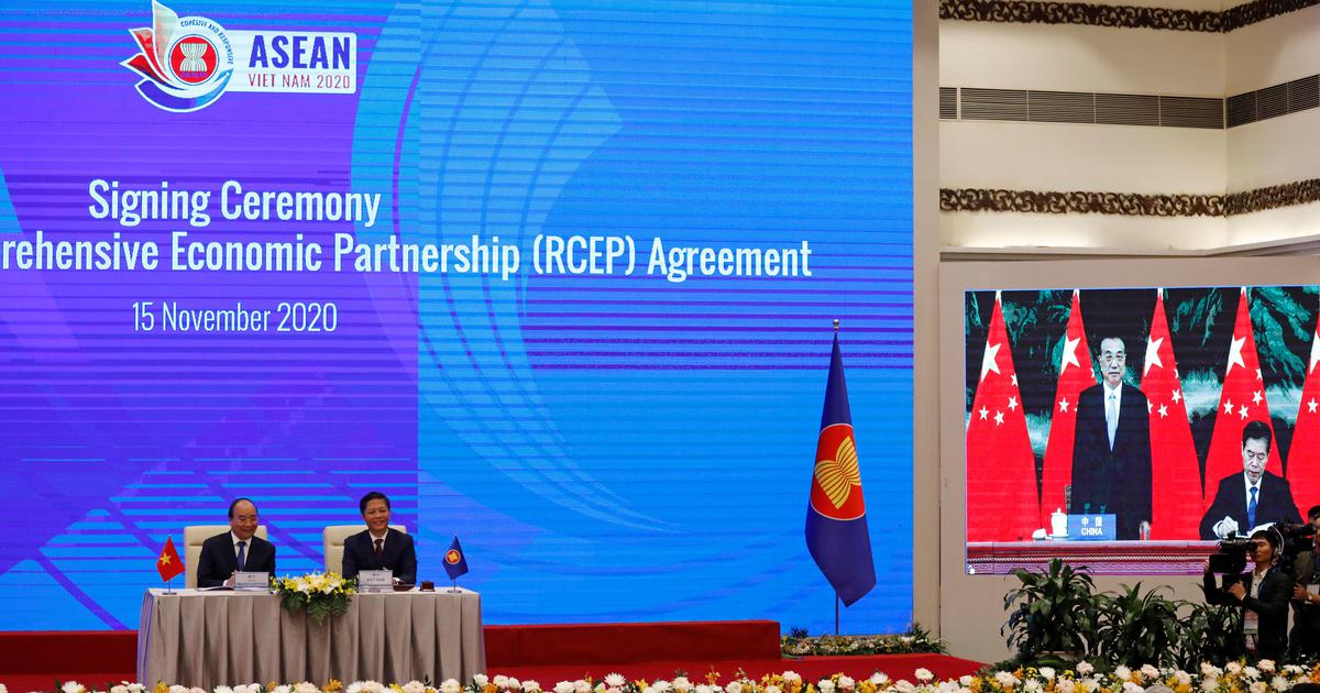 China, 14 Asian countries sign RCEP –  world's largest trade pact