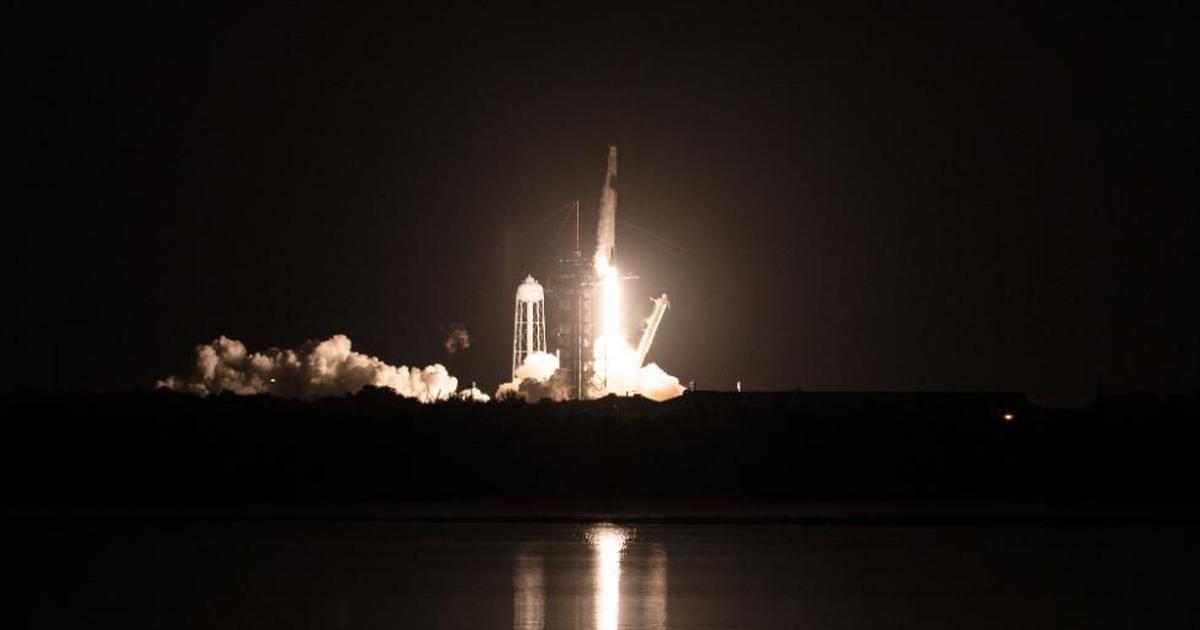 'New era': NASA, Elon Musk's SpaceX send four astronauts to International Space Station