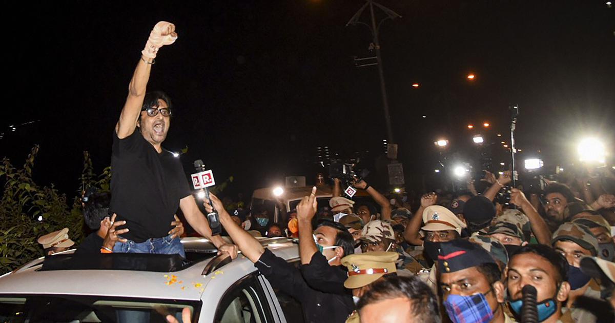 How BJP leaders responded to the Arnab Goswami WhatsApp leaks plus nine more weekend reads