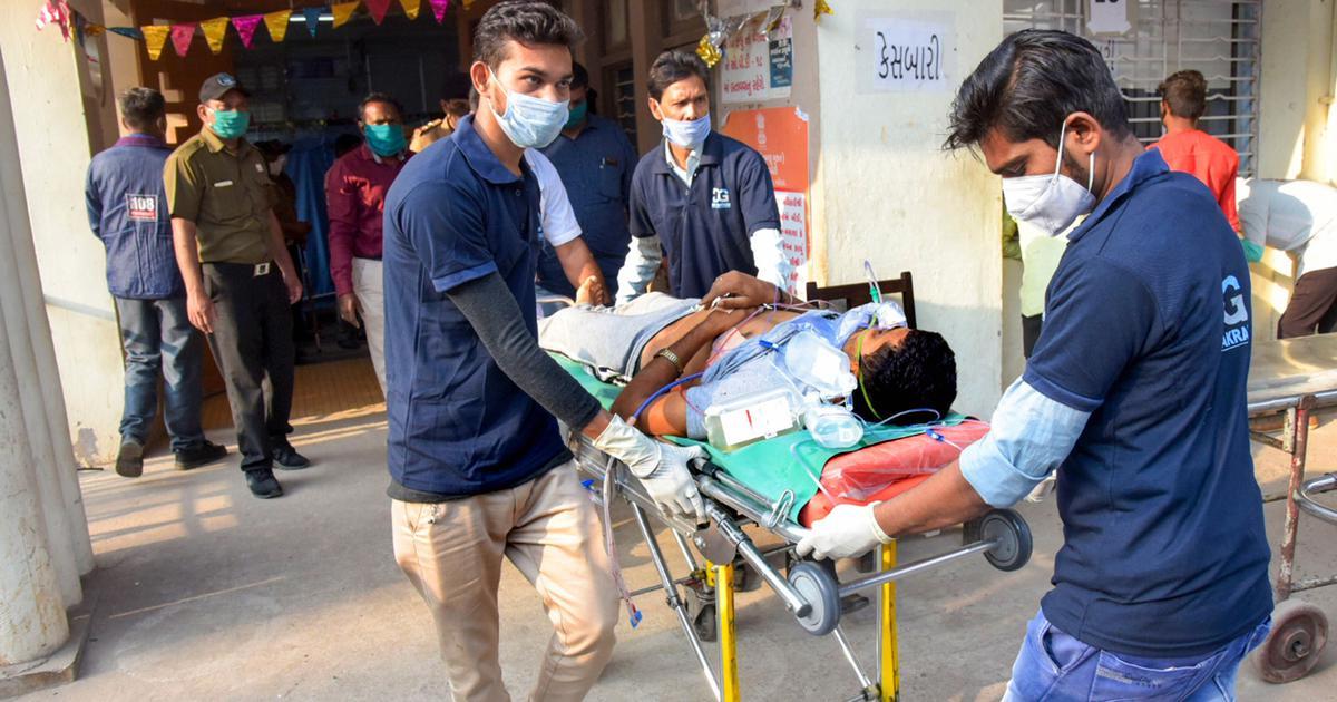 Vadodara: 10 people killed, 16 injured in road accident