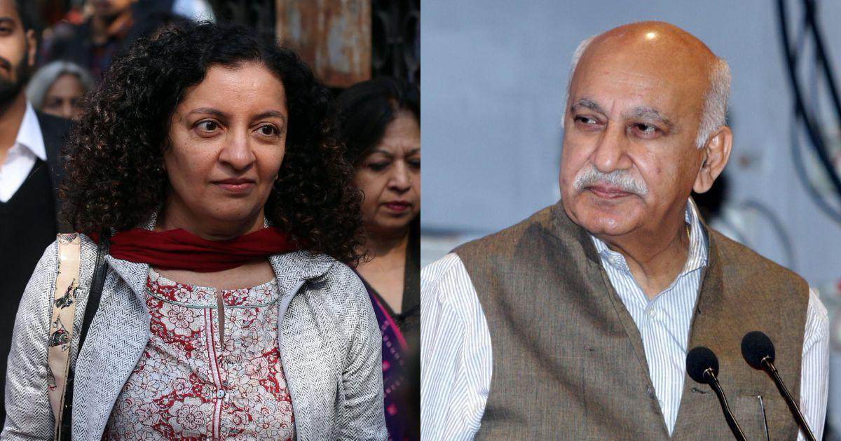 #MeToo: Priya Ramani and MJ Akbar refuse mutual settlement in defamation case