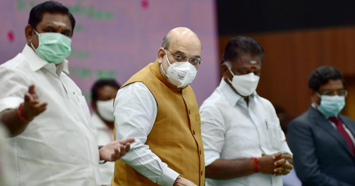 The big news: AIADMK confirms alliance with BJP during Amit Shah's visit, and 9 other top stories