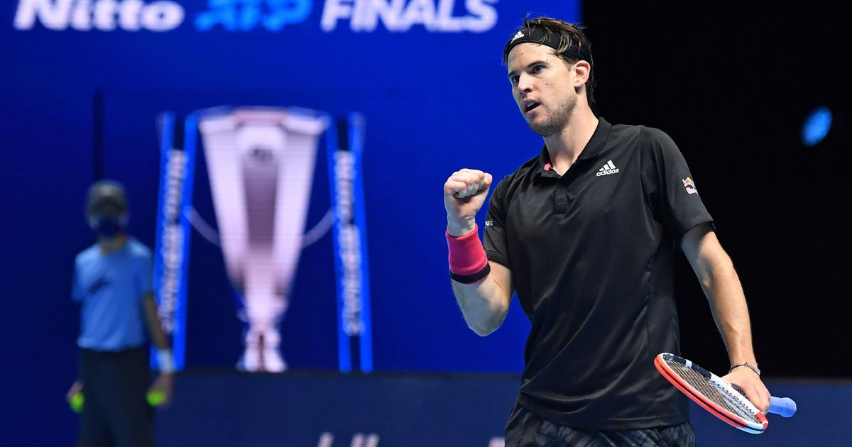 ATP Finals: Dominic Thiem edges out Novak Djokovic in a thrilling encounter to reach title match