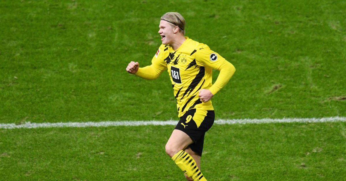 Borussia Dortmund S In Form Striker Erling Braut Haaland Sidelined Till January With A Leg Injury