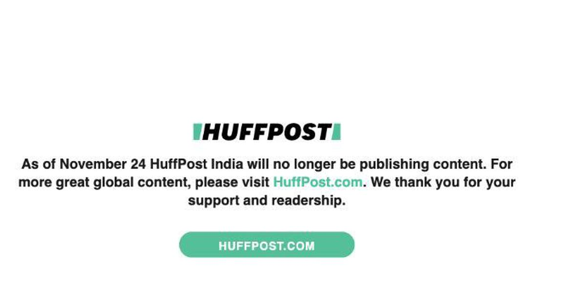 'HuffPost' shuts down its Indian edition after six years
