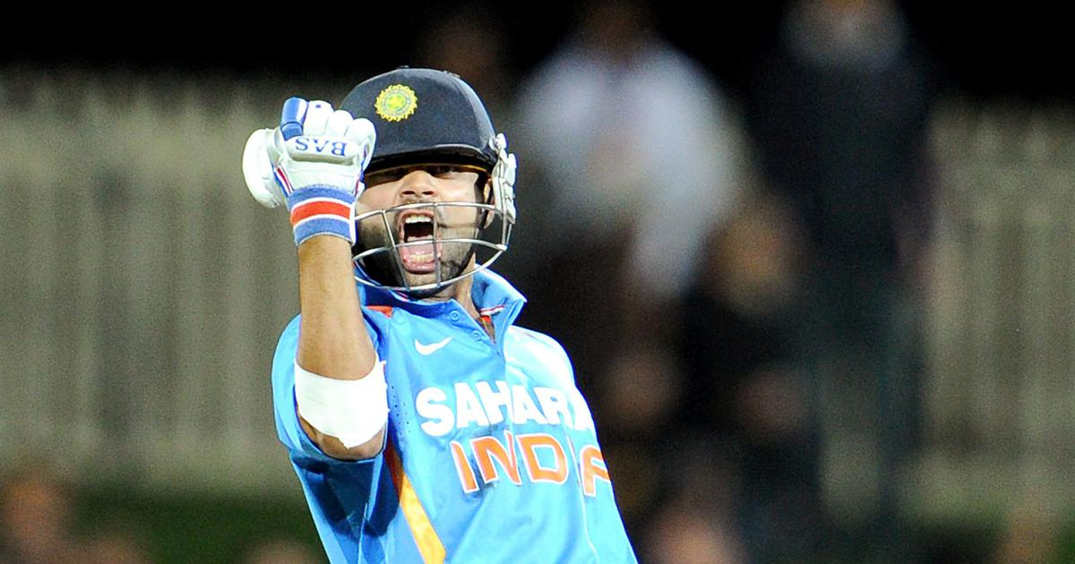 Pause, rewind, play: Virat Kohli's century in Hobart truly marked the arrival of the 'Chasemaster'