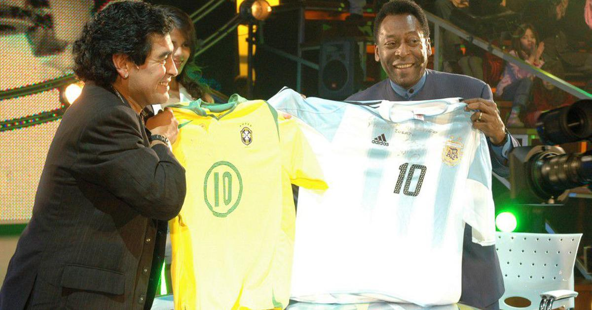A magician: Pele, Cristiano Ronaldo, Lionel Messi pay their tributes to Diego Maradona