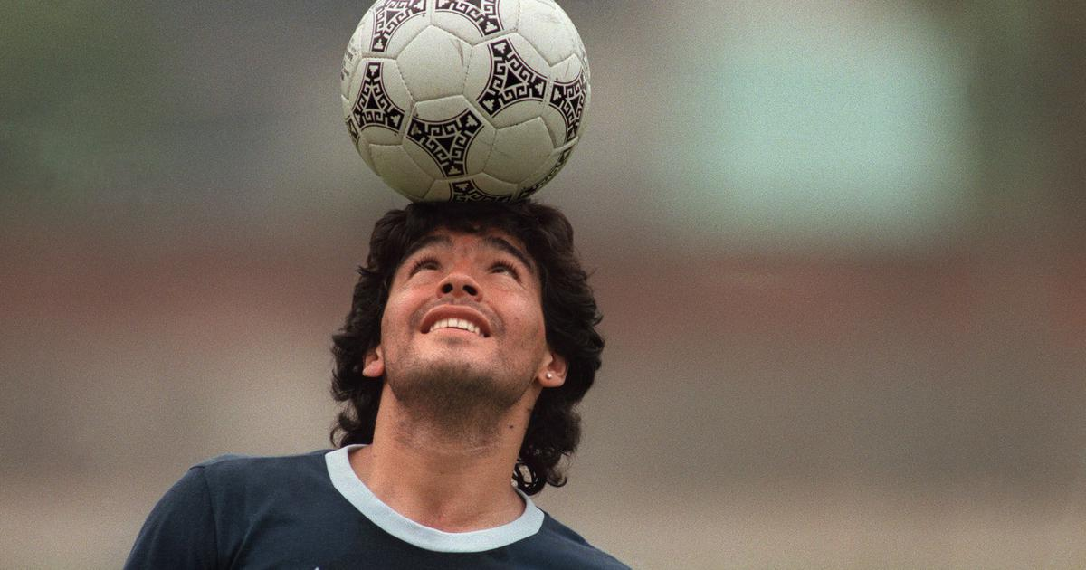 Watch: This Diego Maradona warm-up routine sums up what an unorthodox genius he was
