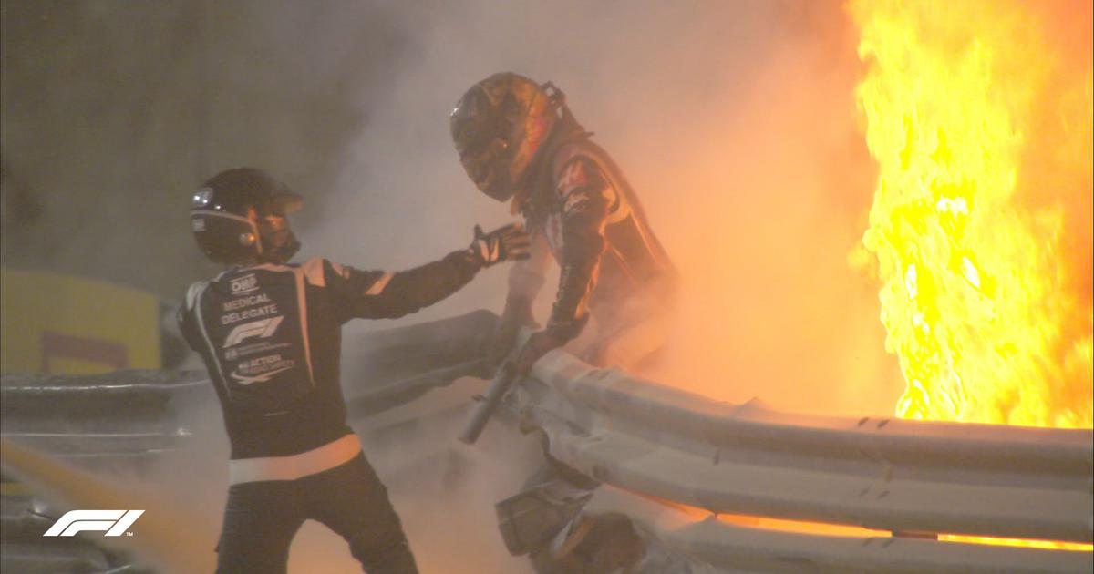 Nothing short of a miracle: Reactions to F1's Grosjean walking away after crazy crash in Bahrain GP