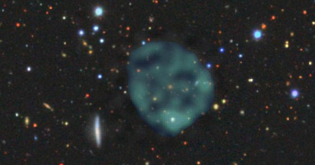 Ghostly blobs in space are the new exciting thing in astronomy. Could these be linked to wormholes?