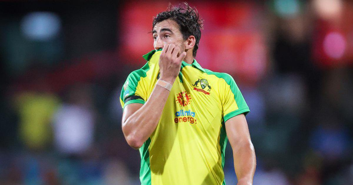 Australia vs India T20Is: Pacer Mitchell Starc withdraws from squad for  remainder of series