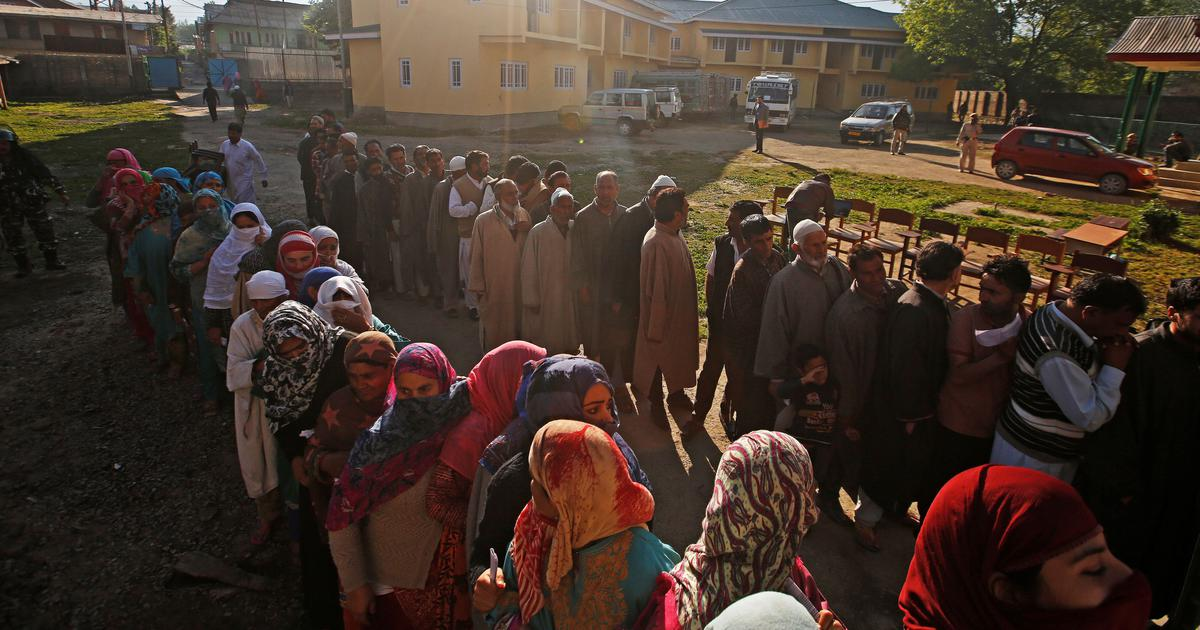 Jammu and Kashmir DDC polls: 50% total voter turnout recorded in the fourth phase