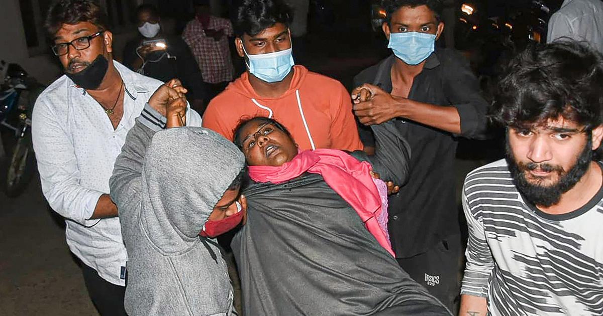 Andhra Pradesh: 22 people fall sick near Eluru, symptoms similar to last month's mysterious illness