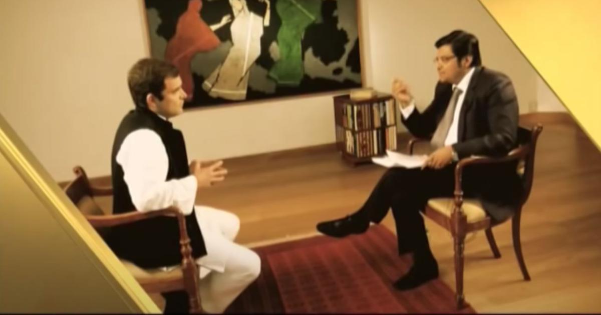 'Annihilation through politeness': Why Rahul Gandhi's TV interview with Arnab Goswami went belly-up