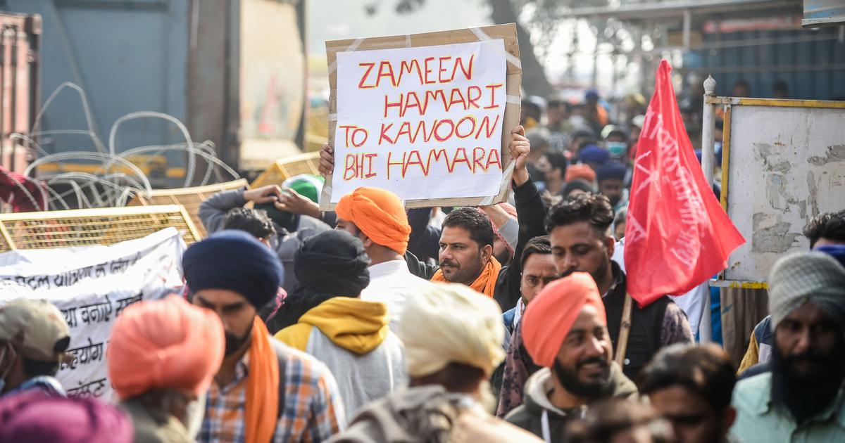 Farm laws: Farmers threaten to completely block Delhi-Noida border point at Chilla tomorrow