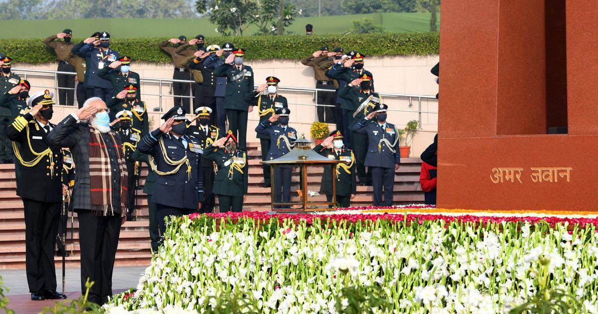 Vijay Diwas 2020: PM Modi pays tribute to 1971 war heroes, lights victory torch