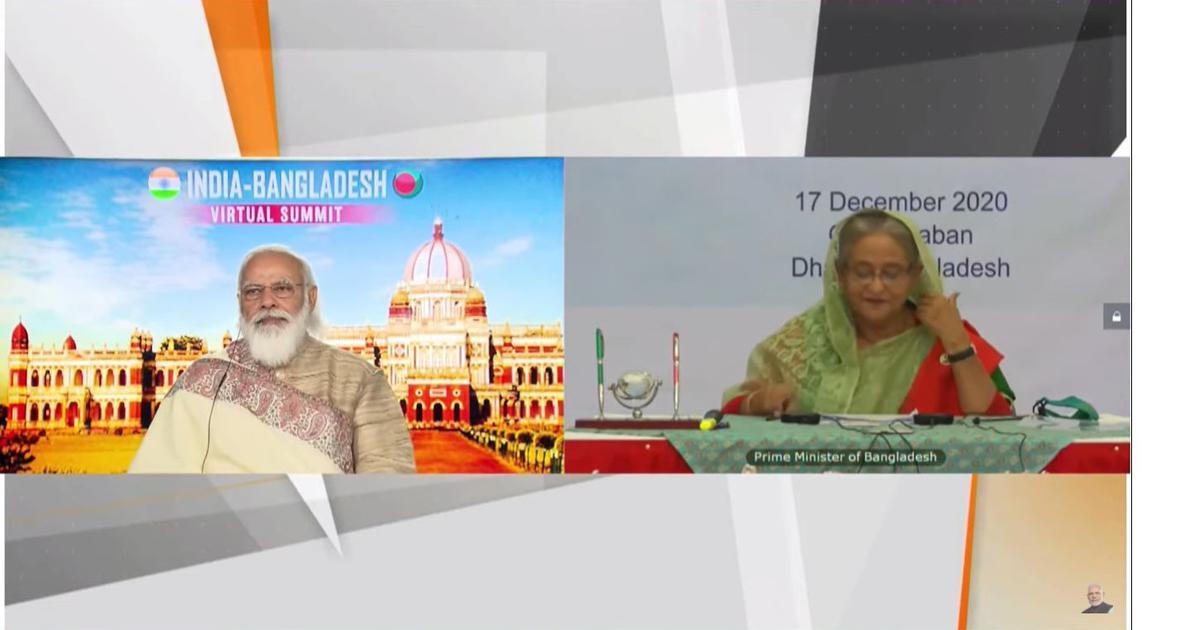Bangladesh a significant pillar of 'Neighbourhood First' policy, Modi tells Sheikh Hasina