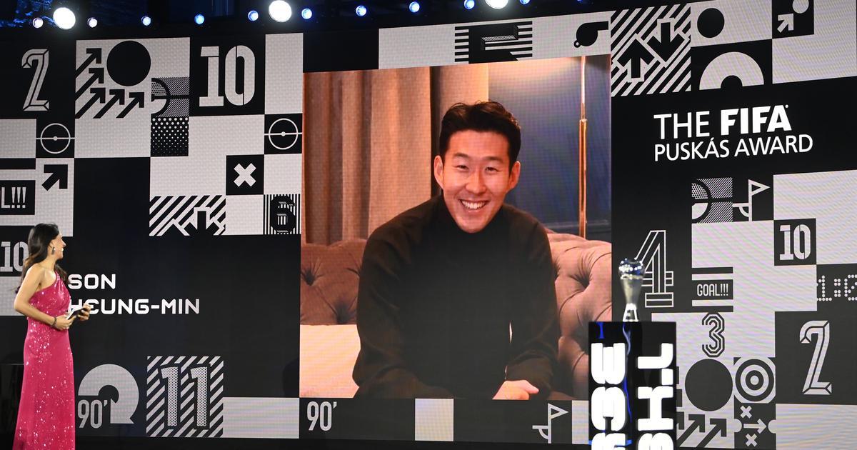 Watch: The Son Heung-min goal that won 2020 Puskas Award for the best goal