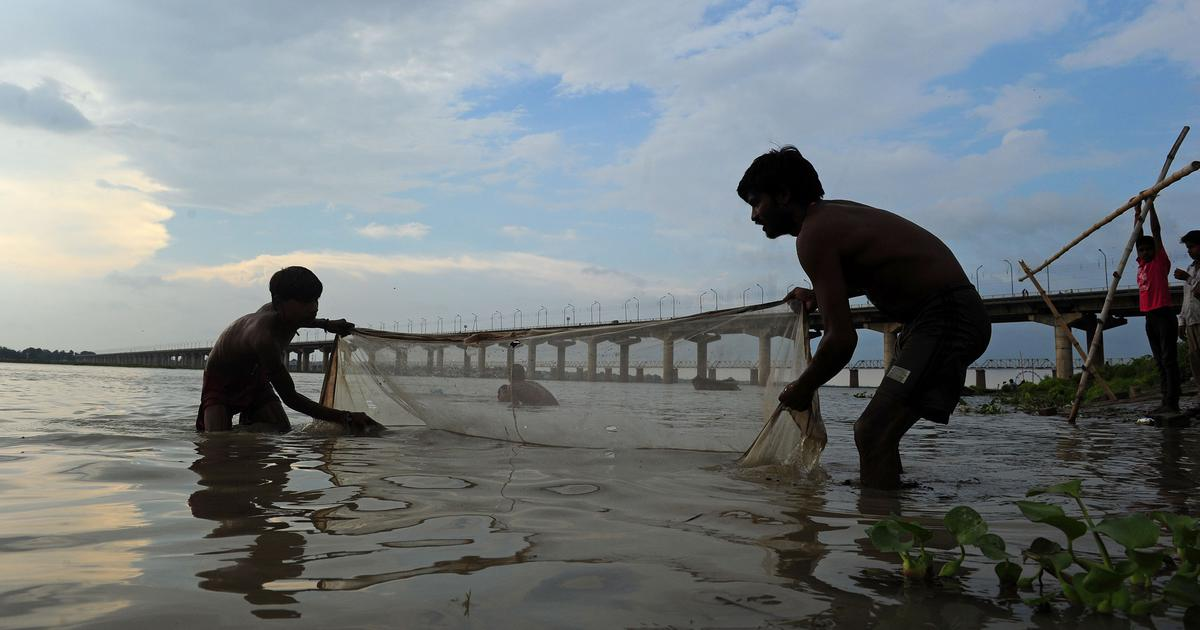 Ghost fishing gear is threatening the acquatic life in Ganga