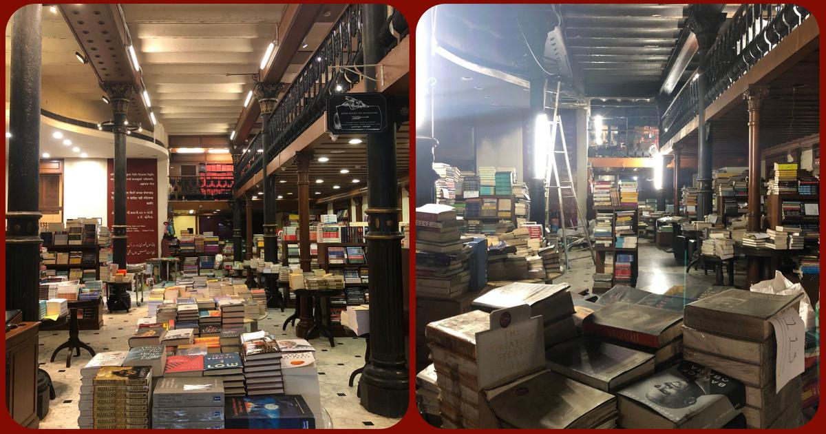 Kitab Khana: Squeezed by the lockdown, gutted by a fire, the Mumbai bookshop is scripting a revival