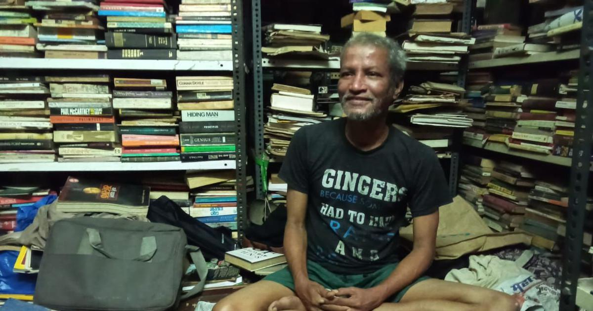 This second-hand bookseller revived his business during the pandemic by selling 'rare books' online