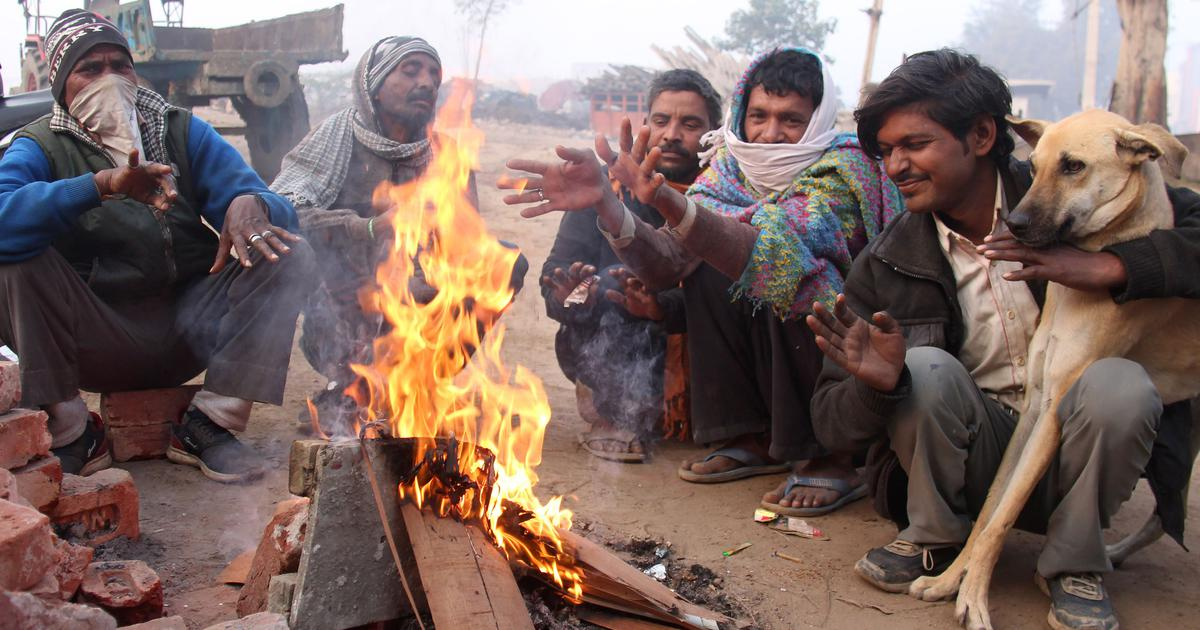 Temperature touches zero degrees Celsius in parts of Haryana, Rajasthan