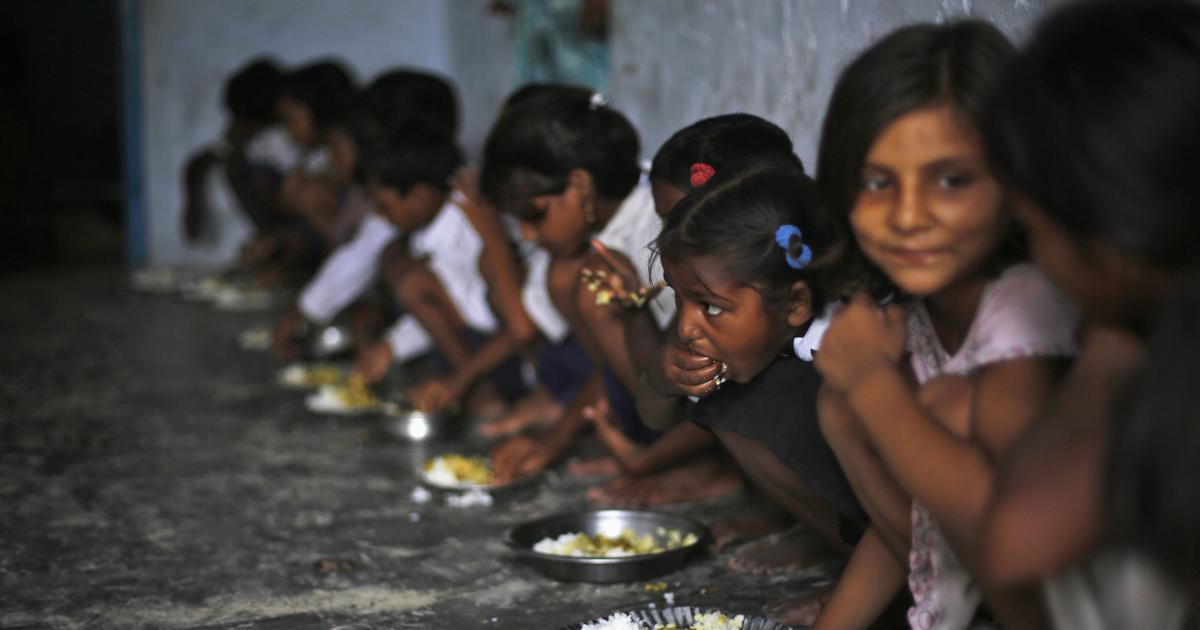 Why does poor West Bengal have healthier children than rich Gujarat?