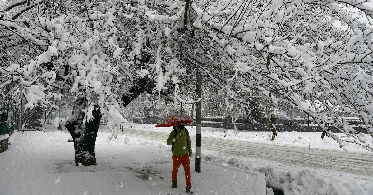 Air, road connectivity with Kashmir cut off for second day due to heavy snowfall
