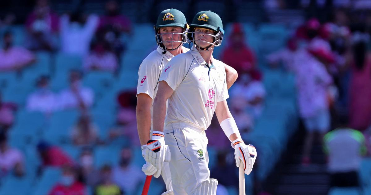 Watch highlights: Labuschagne, Smith give Australia lead of 197 after India collapse on Day 3 at SCG