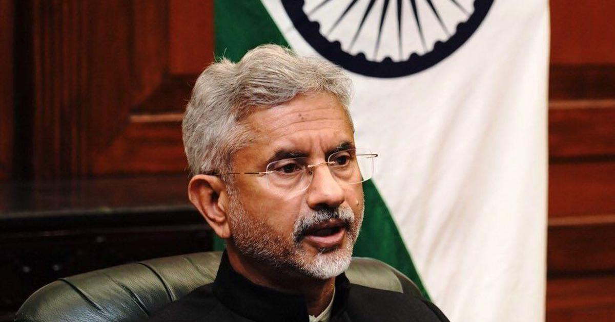 Onus on China to adhere to border agreements, says India's foreign minister